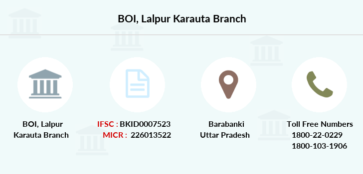 Bank-of-india Lalpur-karauta branch