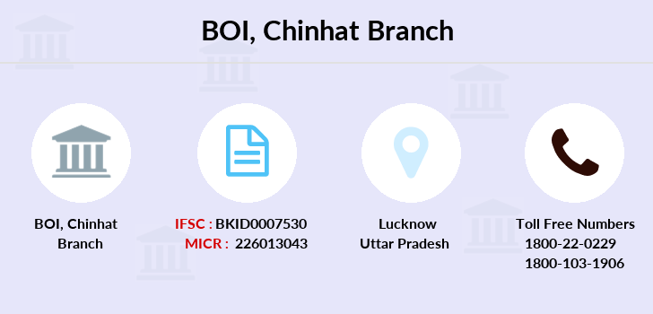 Bank-of-india Chinhat branch