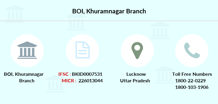 Bank-of-india Khuramnagar branch