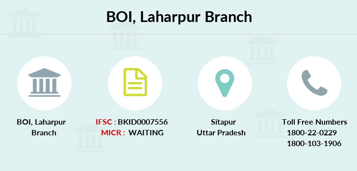 Bank-of-india Laharpur branch
