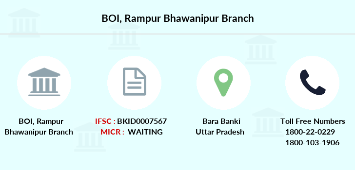 Bank-of-india Rampur-bhawanipur branch