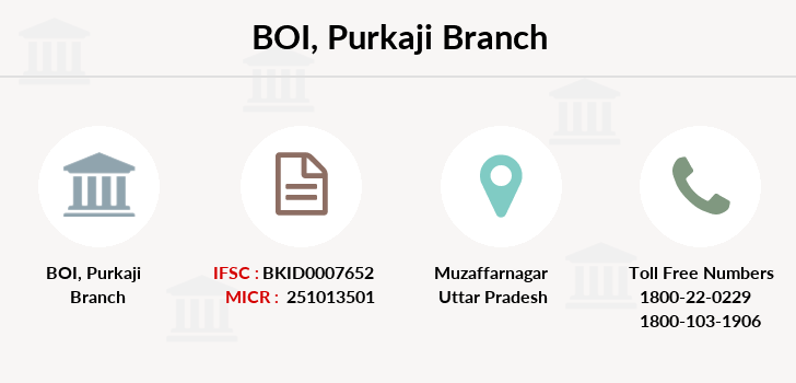 Bank-of-india Purkaji branch