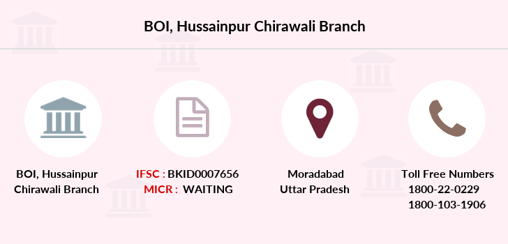 Bank-of-india Hussainpur-chirawali branch