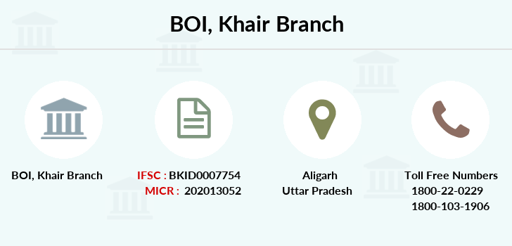 Bank-of-india Khair branch