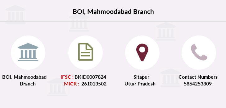 Bank-of-india Mahmoodabad branch