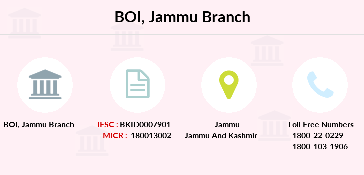 Bank-of-india Jammu branch
