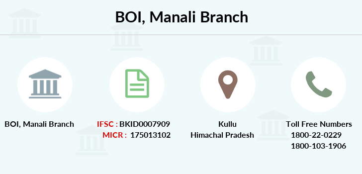Bank-of-india Manali branch