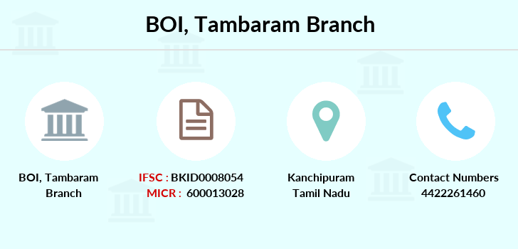 Bank-of-india Tambaram branch