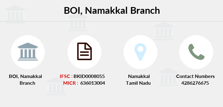 Bank-of-india Namakkal branch
