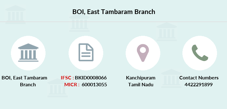Bank-of-india East-tambaram branch