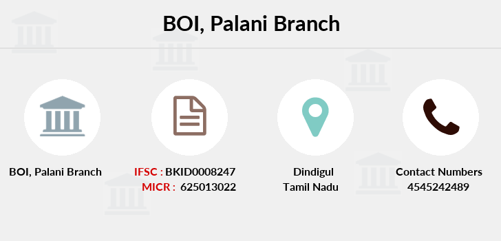 Bank-of-india Palani branch