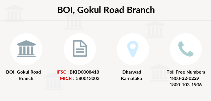 Bank-of-india Gokul-road branch