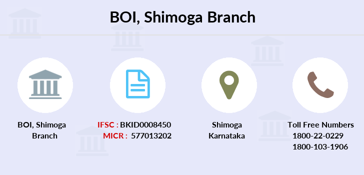 Bank-of-india Shimoga branch