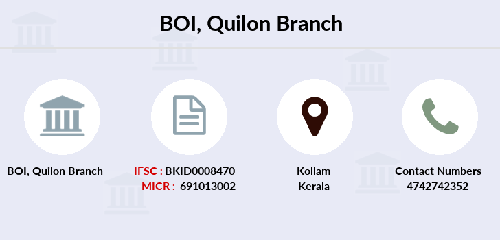 Bank-of-india Quilon branch