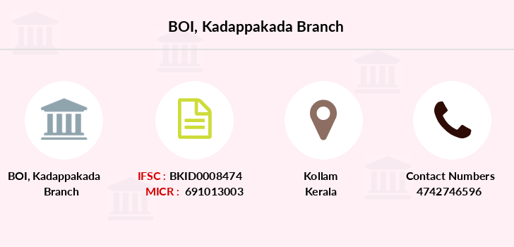 Bank-of-india Kadappakada branch