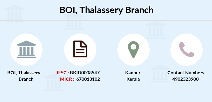 Bank-of-india Thalassery branch