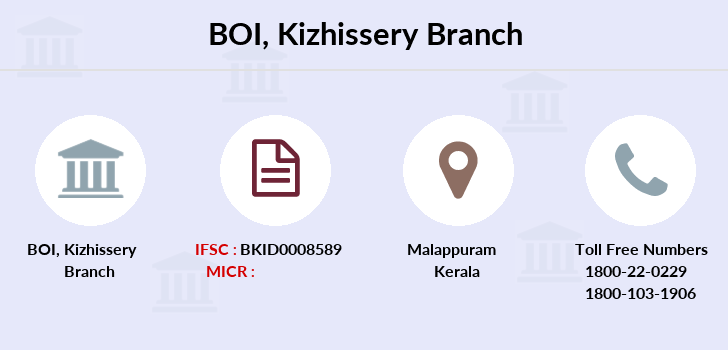 Bank-of-india Kizhissery branch