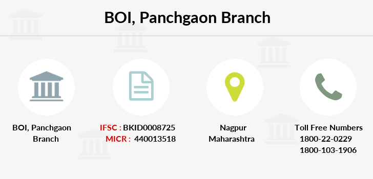 Bank-of-india Panchgaon branch