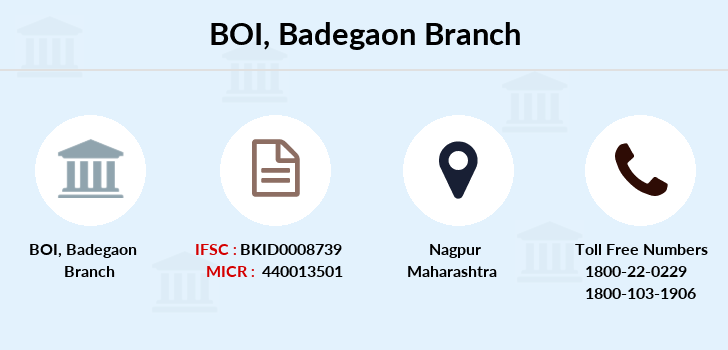Bank-of-india Badegaon branch