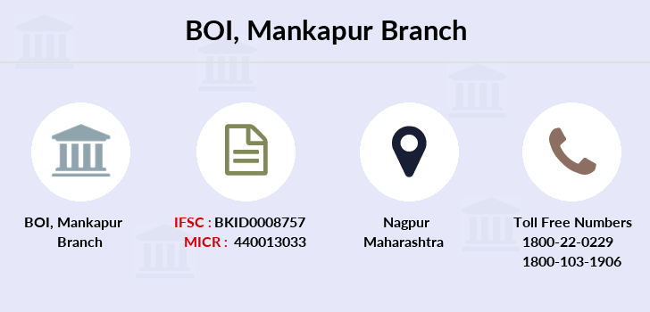 Bank-of-india Mankapur branch