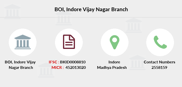 Bank-of-india Indore-vijay-nagar branch