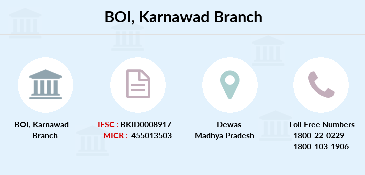 Bank-of-india Karnawad branch