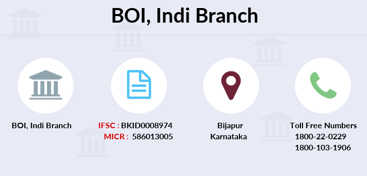 Bank-of-india Indi branch