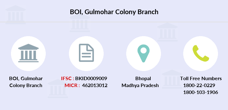 Bank-of-india Gulmohar-colony branch