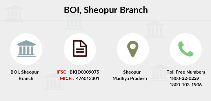 Bank-of-india Sheopur branch