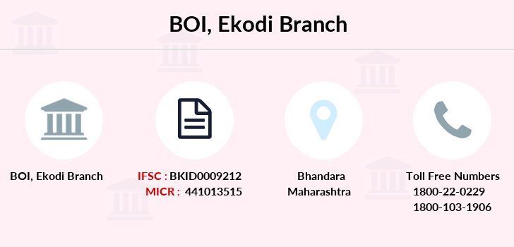 Bank-of-india Ekodi branch