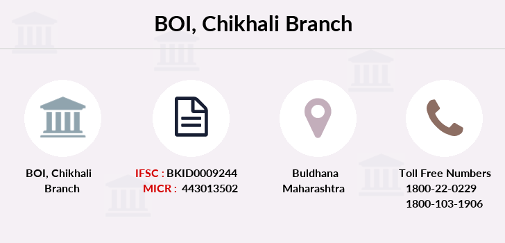 Bank-of-india Chikhali branch