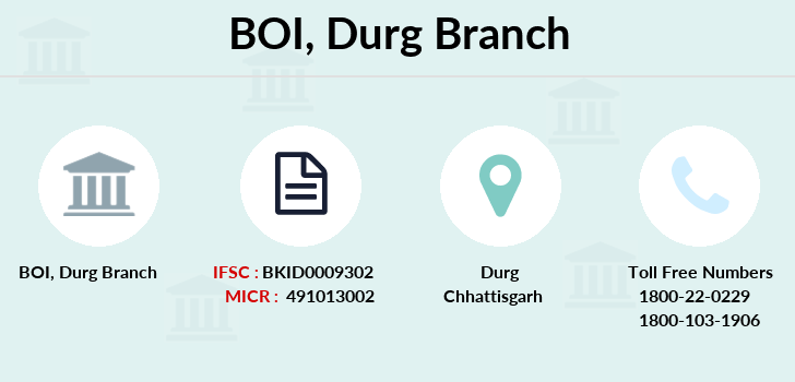 Bank-of-india Durg branch