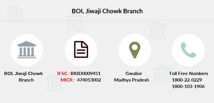 Bank-of-india Jiwaji-chowk branch