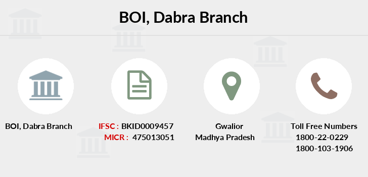 Bank-of-india Dabra branch