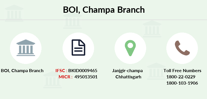 Bank-of-india Champa branch