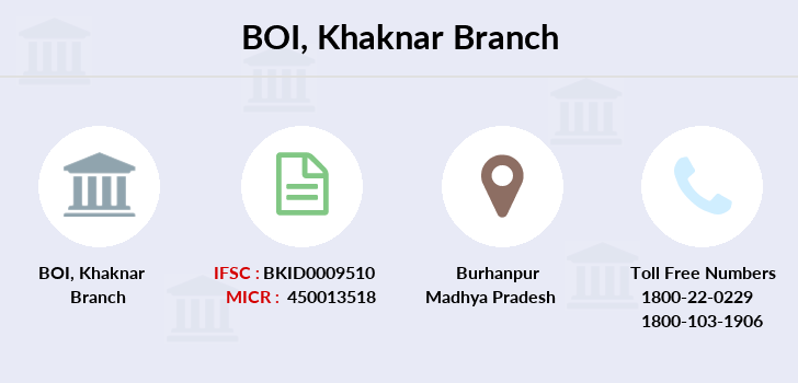 Bank-of-india Khaknar branch