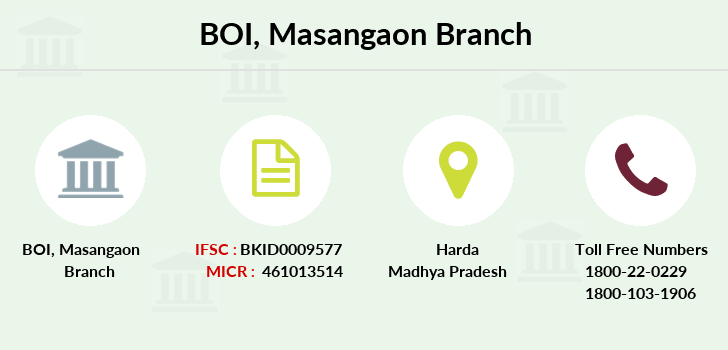 Bank-of-india Masangaon branch