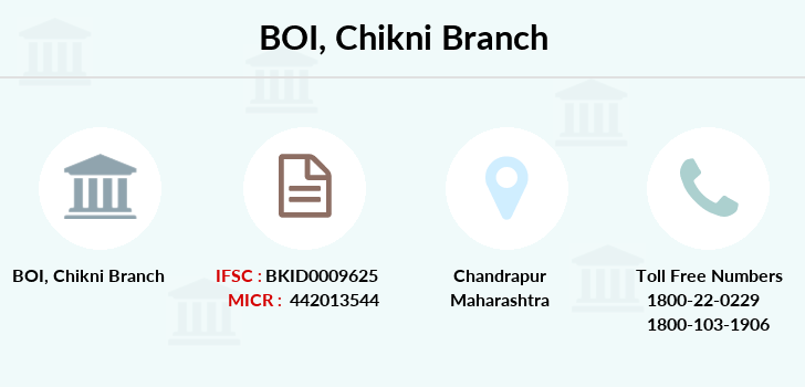 Bank-of-india Chikni branch