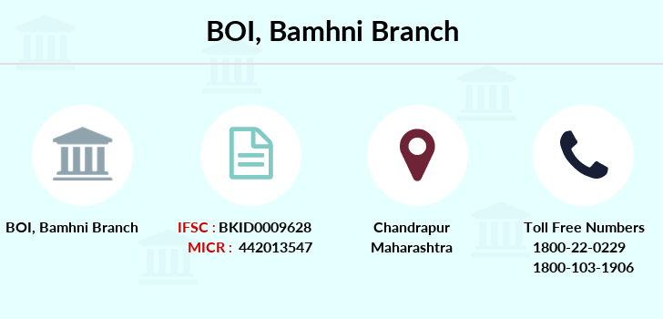 Bank-of-india Bamhni branch