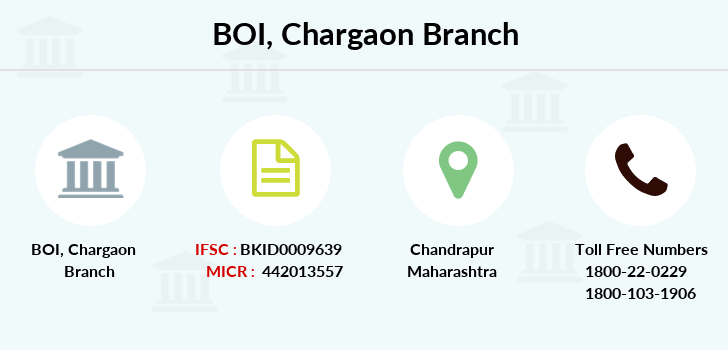Bank-of-india Chargaon branch