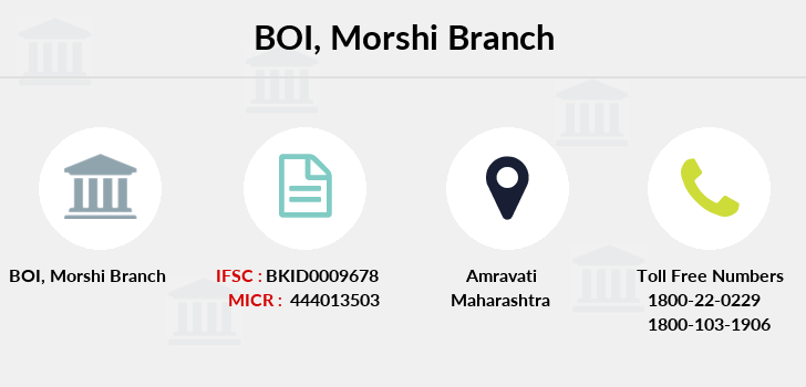 Bank-of-india Morshi branch