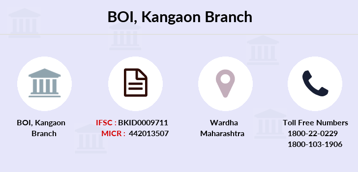 Bank-of-india Kangaon branch