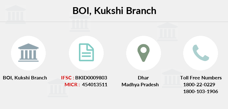 Bank-of-india Kukshi branch