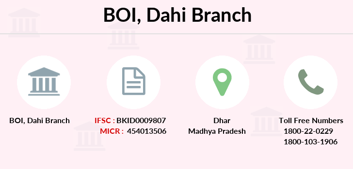 Bank-of-india Dahi branch