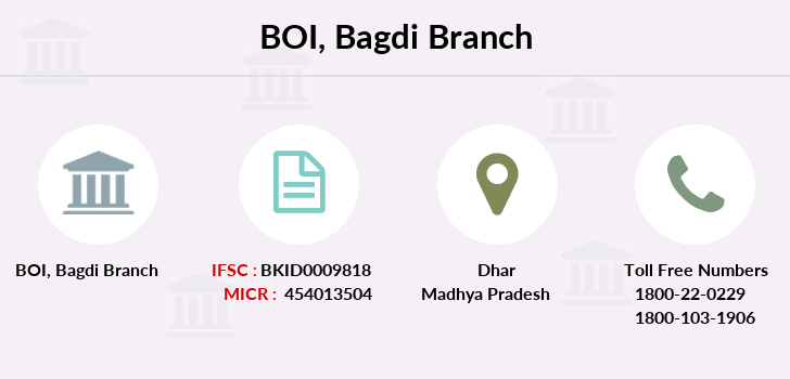 Bank-of-india Bagdi branch