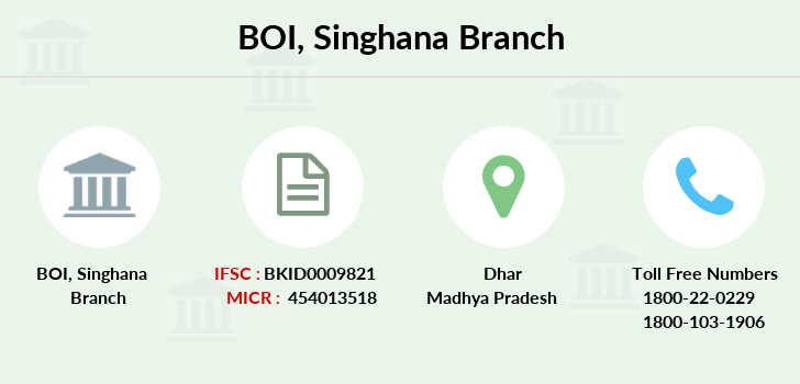 Bank-of-india Singhana branch