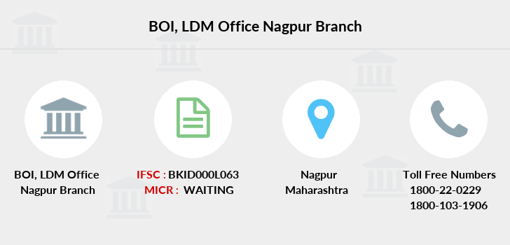 Bank-of-india Ldm-office-nagpur branch