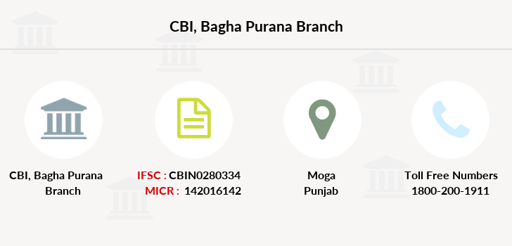 Central-bank-of-india Bagha-purana branch