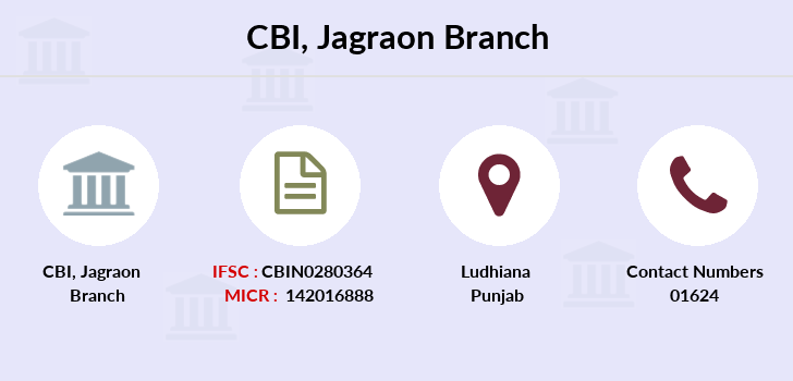 Central-bank-of-india Jagraon branch