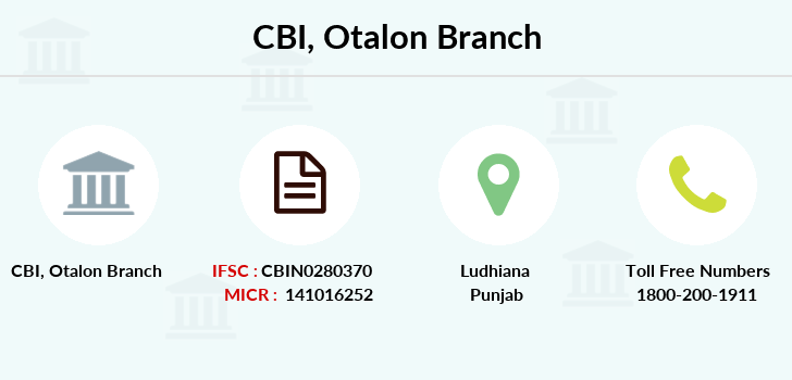 Central-bank-of-india Otalon branch